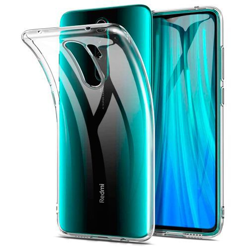 Produktimage des Just in Case Soft TPU Case Clear Xiaomi Redmi Note 8 Pro