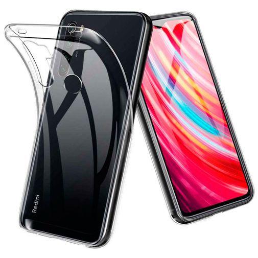 Produktimage des Just in Case Soft TPU Case Clear Xiaomi Redmi Note 8T