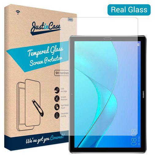 Productafbeelding van de Just in Case Tempered Glass Screenprotector Huawei MediaPad M5 10.8