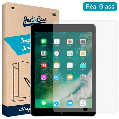 Produktimage des Just in Case Gehärtetes Glas Displayschutzfolie Apple iPad 2017/iPad 2018