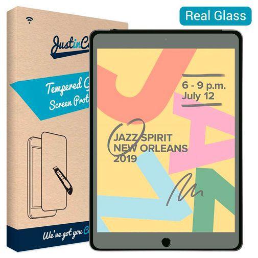 Produktimage des Just in Case Gehärtetes Glas Displayschutzfolie Apple iPad 2019