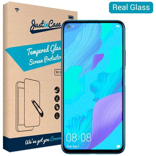 Produktimage des Just in Case Gehärtetes Glas Displayschutzfolie Huawei Nova 5T