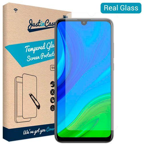 Produktimage des Just in Case Gehärtetes Glas Displayschutzfolie Huawei P Smart (2020)