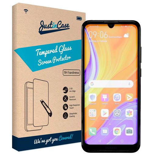 Productafbeelding van de Just in Case Tempered Glass Screenprotector Huawei Y6S
