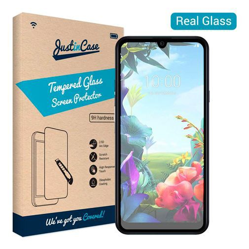 Produktimage des Just in Case Gehärtetes Glas Displayschutzfolie LG K40s