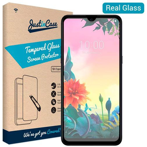 Productafbeelding van de Just in Case Tempered Glass Screenprotector LG K50s