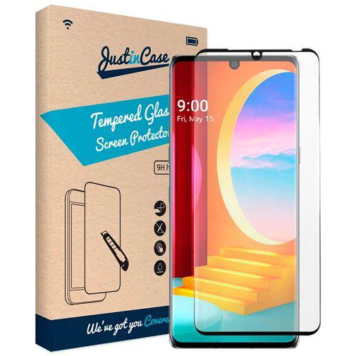 Productafbeelding van de Just in Case Tempered Glass Screenprotector LG Velvet