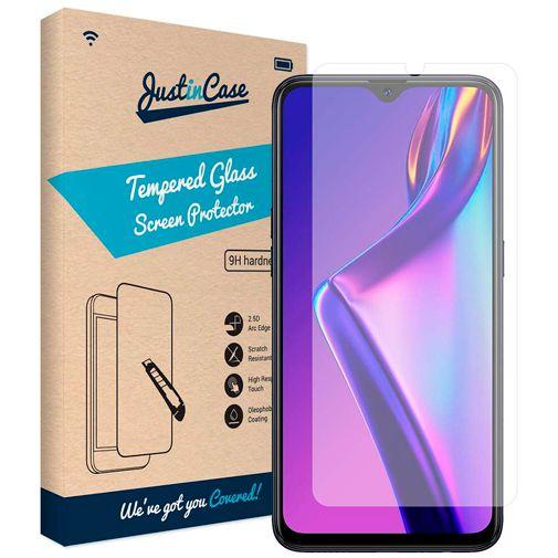Productafbeelding van de Just in Case Tempered Glass Screenprotector Oppo A12