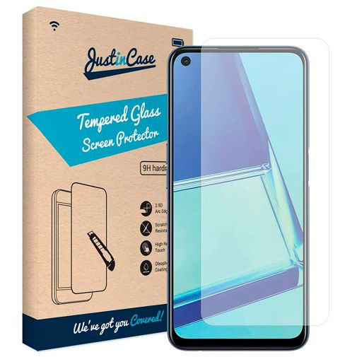 Productafbeelding van de Just in Case Tempered Glass Screenprotector Oppo A52