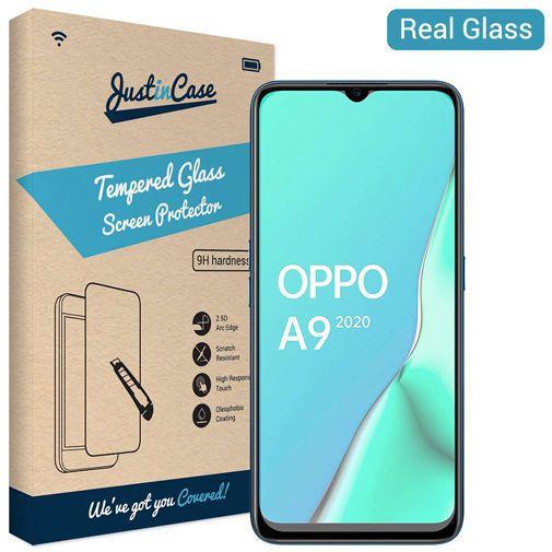 Productafbeelding van de Just in Case Tempered Glass Screenprotector Oppo A9 (2020)