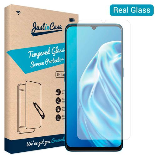 Productafbeelding van de Just in Case Tempered Glass Screenprotector Oppo A91