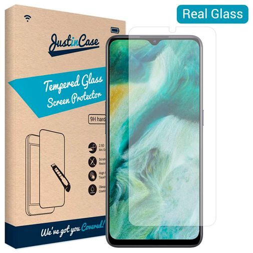 Productafbeelding van de Just in Case Tempered Glass Screenprotector Oppo Find X2 Lite