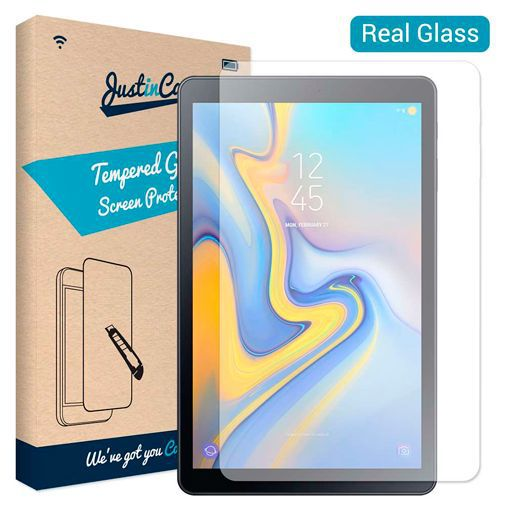 Productafbeelding van de Just in Case Tempered Glass Screenprotector Samsung Galaxy A 10.5 (2018)