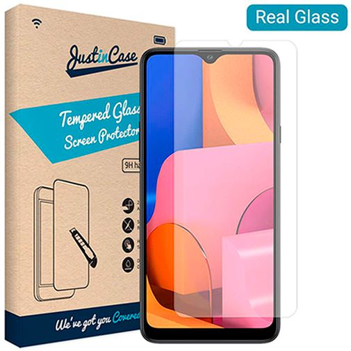 Productafbeelding van de Just in Case Tempered Glass Screenprotector Samsung Galaxy A20s