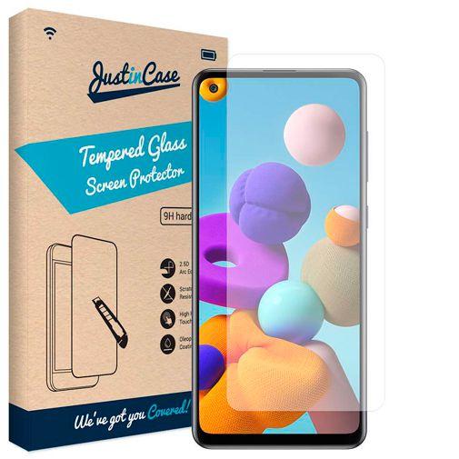 Productafbeelding van de Just in Case Tempered Glass Screenprotector Samsung Galaxy A21s