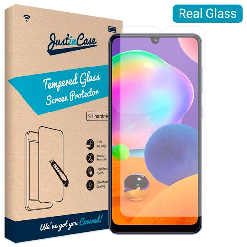 Productafbeelding van de Just in Case Tempered Glass Screenprotector Samsung Galaxy A31