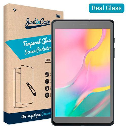 Productafbeelding van de Just in Case Tempered Glass Screenprotector Samsung Galaxy Tab A 8.0 (2019)