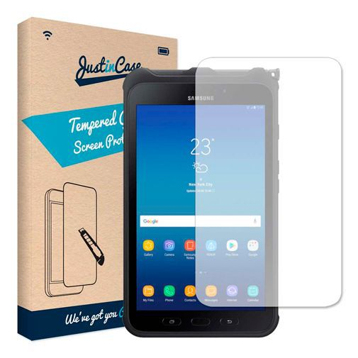 Productafbeelding van de Just in Case Tempered Glass Screenprotector Samsung Galaxy Tab Active 2