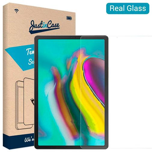 Productafbeelding van de Just in Case Tempered Glass Screenprotector Samsung Galaxy Tab S5e