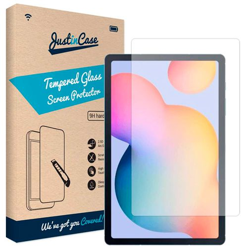 Productafbeelding van de Just in Case Tempered Glass Screenprotector Samsung Galaxy Tab S6 Lite