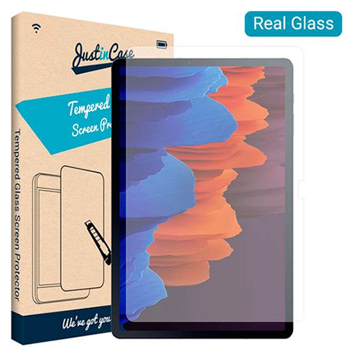 Productafbeelding van de Just in Case Tempered Glass Screenprotector Samsung Galaxy Tab S7+