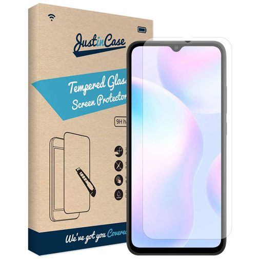 Productafbeelding van de Just in Case Tempered Glass Screenprotector Xiaomi Redmi 9A
