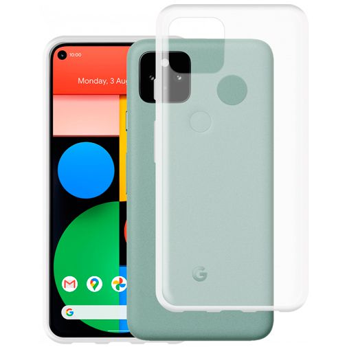 Productafbeelding van de Just in Case TPU Back Cover Google Pixel 5 Transparant