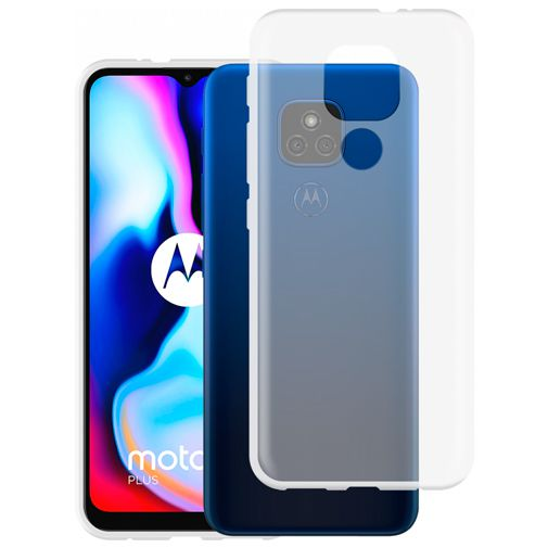 Productafbeelding van de Just in Case TPU Back Cover Motorola Moto E7 Plus Transparant