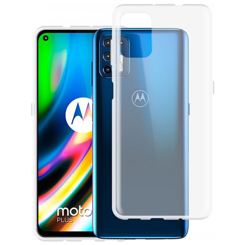 Productafbeelding van de Just in Case TPU Back Cover Motorola Moto G9 Plus Transparant