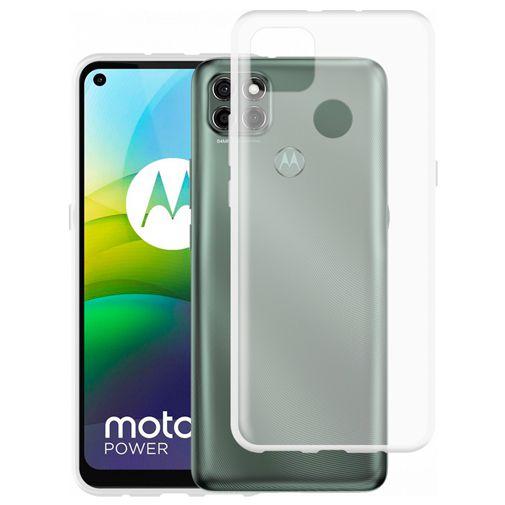 Productafbeelding van de Just in Case TPU Back Cover Motorola Moto G9 Power Transparant