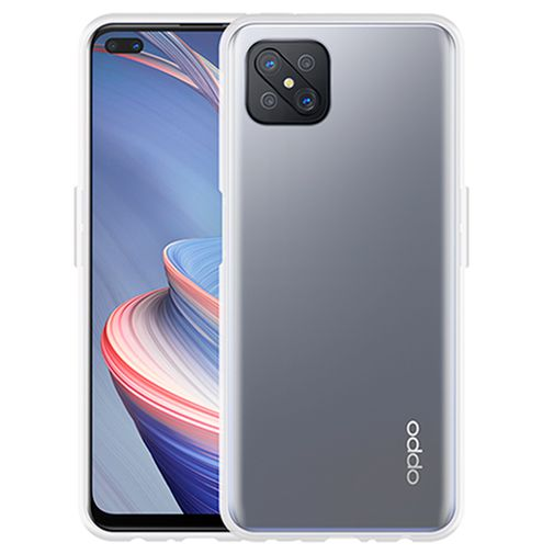 Productafbeelding van de Just in Case TPU Back Cover Oppo Reno 4 Z Transparant