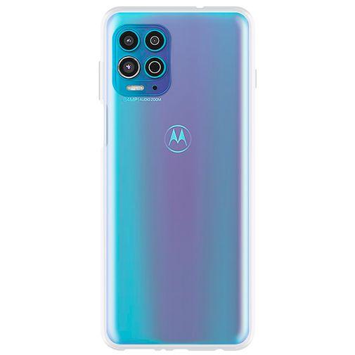 Productafbeelding van de Just in Case TPU Back Cover Transparant Motorola G100