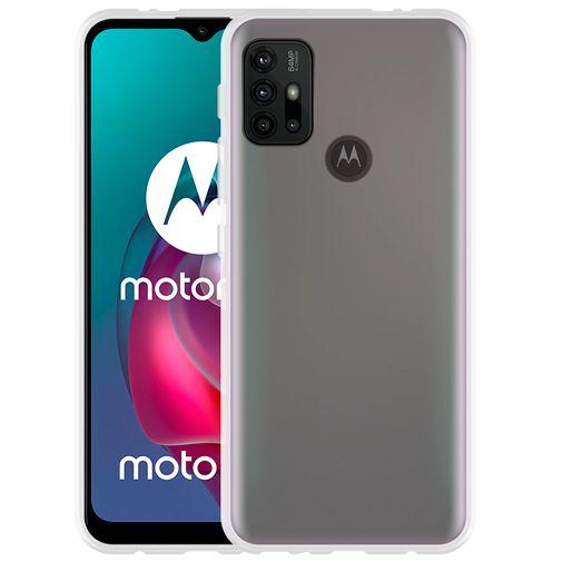 Productafbeelding van de Just in Case TPU Back Cover Transparant Motorola G10