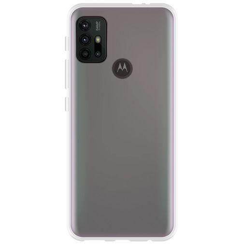 Productafbeelding van de Just in Case TPU Back Cover Transparant Motorola Moto G30