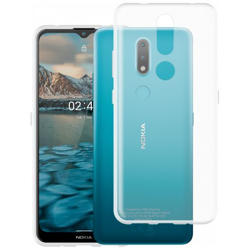 Productafbeelding van de Just in Case TPU Back Cover Transparant Nokia 2.4