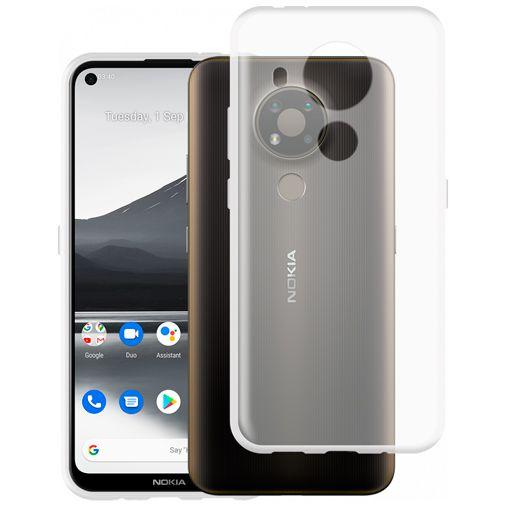 Productafbeelding van de Just in Case TPU Back Cover Transparant Nokia 3.4