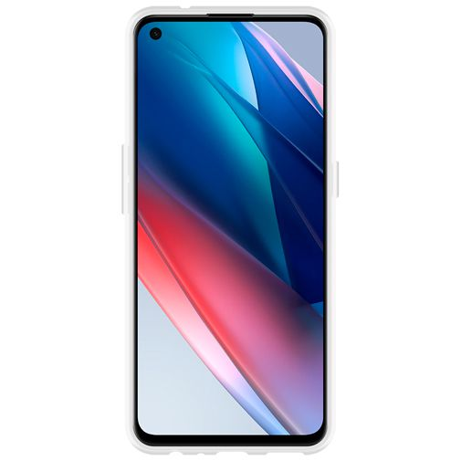 Productafbeelding van de Just in Case TPU Back Cover Transparant Oppo Find X3 Lite