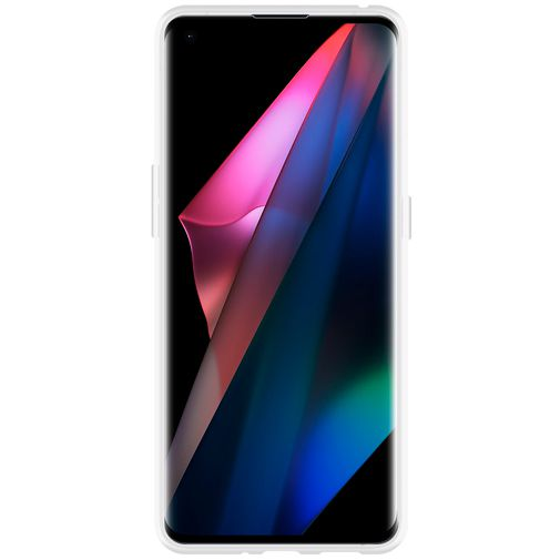 Productafbeelding van de Just in Case TPU Back Cover Transparant Oppo Find X3 Pro