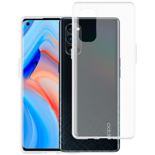 Productafbeelding van de Just in Case TPU Back Cover Transparant Oppo Reno 4 Pro