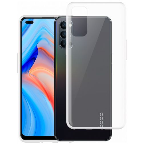 Productafbeelding van de Just in Case TPU Back Cover Transparant Oppo Reno 4