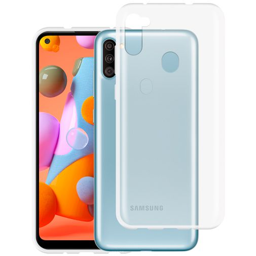 Productafbeelding van de Just in Case TPU Back Cover Transparant Samsung Galaxy M11