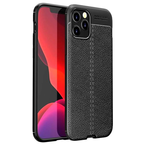 Productafbeelding van de Just in Case TPU Back Cover Zwart Apple iPhone 12/12 Pro