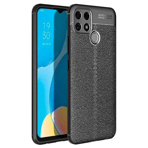 Productafbeelding van de Just in Case TPU Back Cover Zwart Oppo A15
