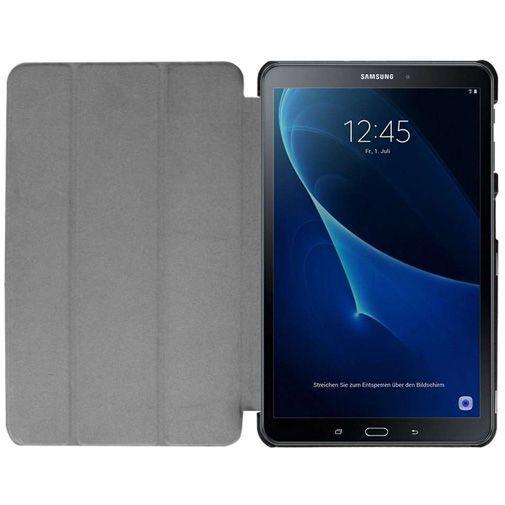 Productafbeelding van de Just in Case Tri-Fold Case Black Samsung Galaxy Tab A 10.1 (2016)