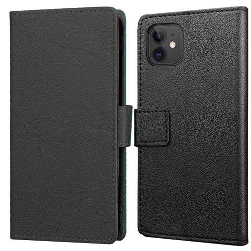 Productafbeelding van de Just in Case Wallet Case Zwart Apple iPhone 12 Mini