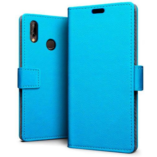 Productafbeelding van de Just in Case Wallet Case Blue Huawei P30 Lite/P30 Lite New Edition