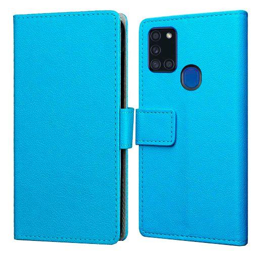 Productafbeelding van de Just in Case Wallet Case Blue Samsung Galaxy A21s