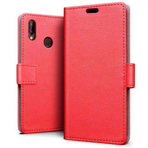 Productafbeelding van de Just in Case Wallet Case Red Huawei P30 Lite/P30 Lite New Edition