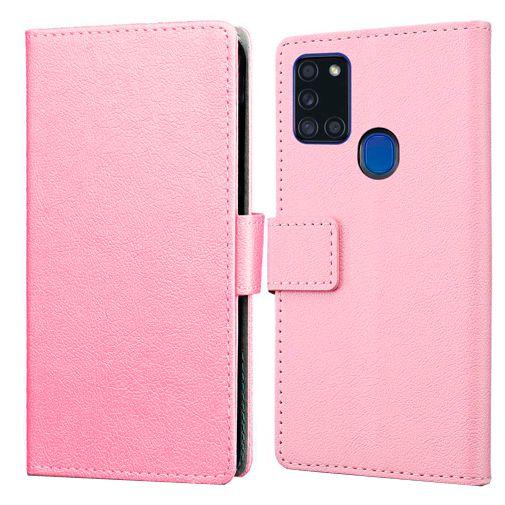 Productafbeelding van de Just in Case Wallet Case Pink Samsung Galaxy A21s
