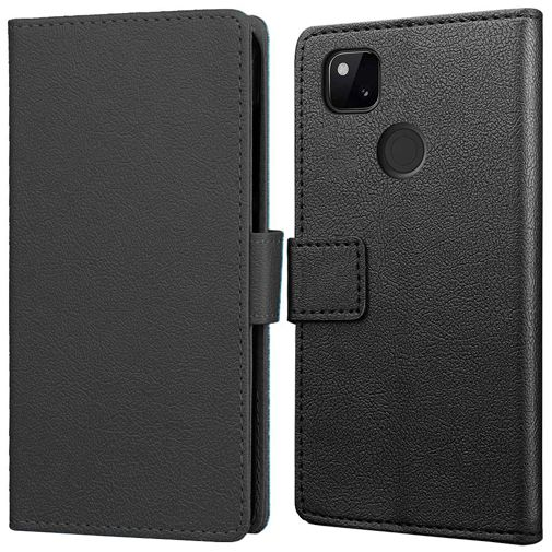Productafbeelding van de Just in Case Wallet Case Black Google Pixel 4a